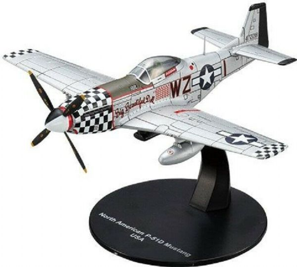 LG12 1/72 Scale  North American P-51D Mustang Fighter USA Air Force World War II
